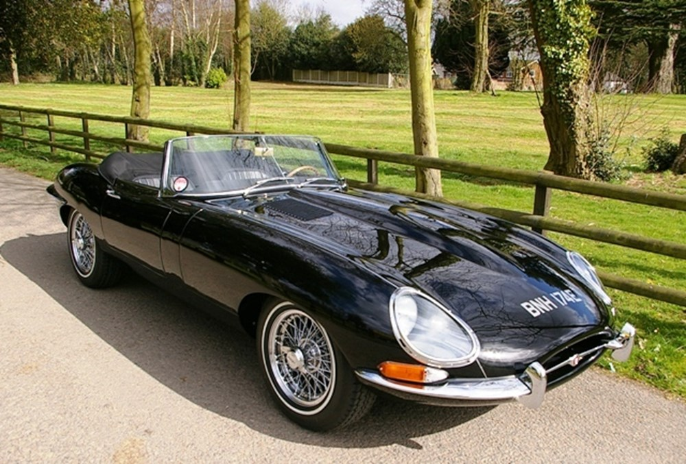 Lot 352 - 1967 Jaguar E-Type SI Roadster