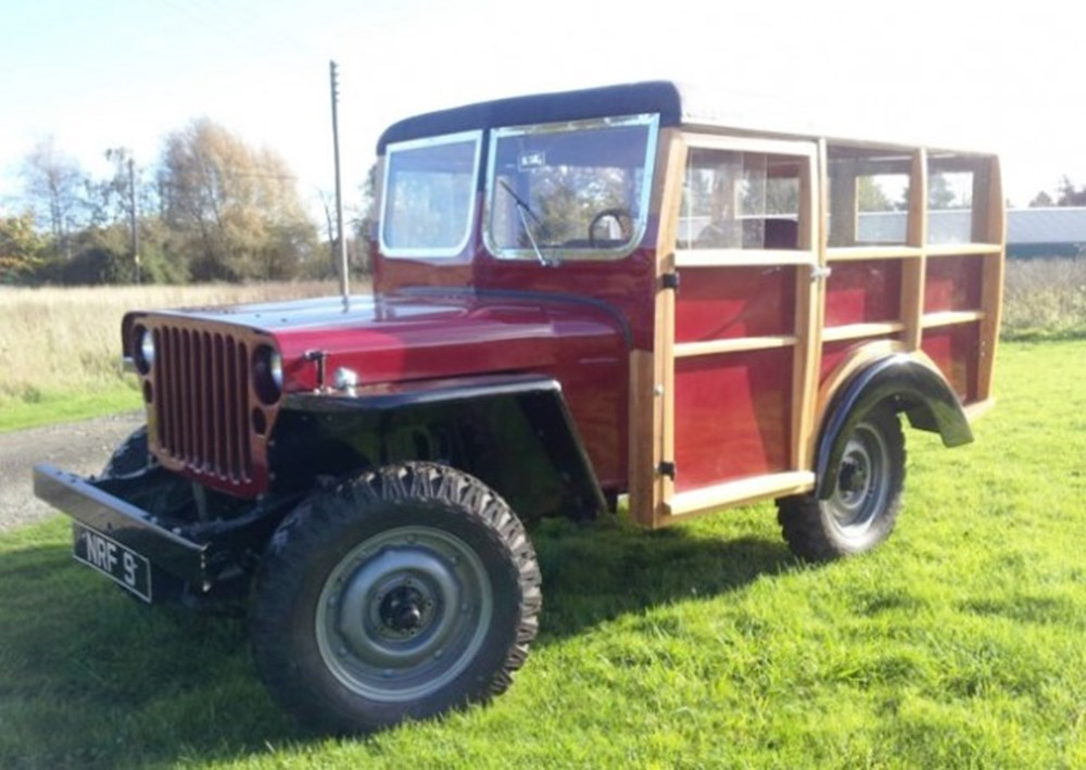 Lot 310 - 1943 Willys Jeep 'Woodie' Stationwagon