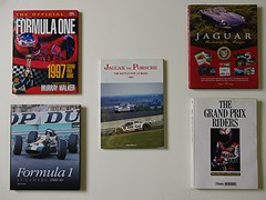 Navigate to Signed motor-sport books