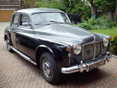 Navigate to Lot 337 - 1960 Rover 80 P4