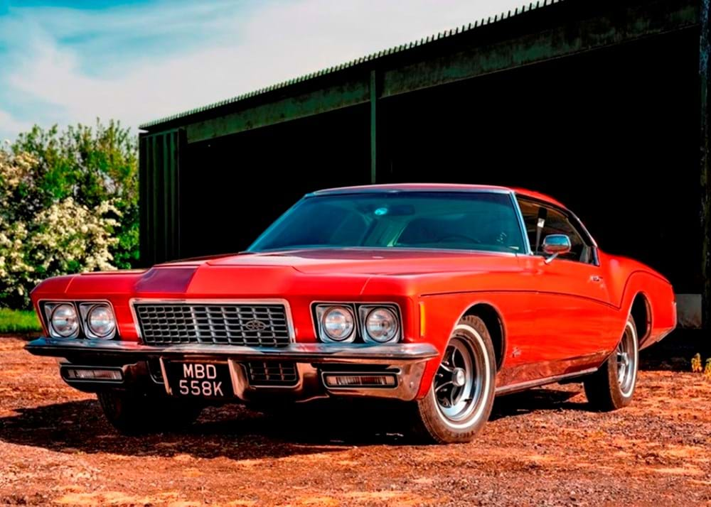 Lot 171 - 1972 Buick Riviera 'Boattail' Coupé (Generation Three)