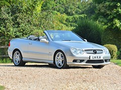 Navigate to Lot 186 - 2005 Mercedes-Benz CLK55 AMG Avantgarde