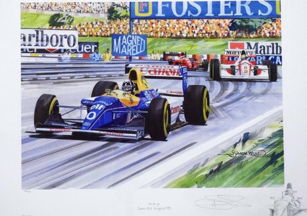 Lot 102 - Damon Hill