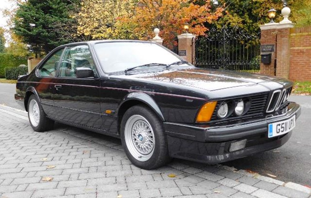 Lot 234 - 1989 BMW 635 CSi Highline