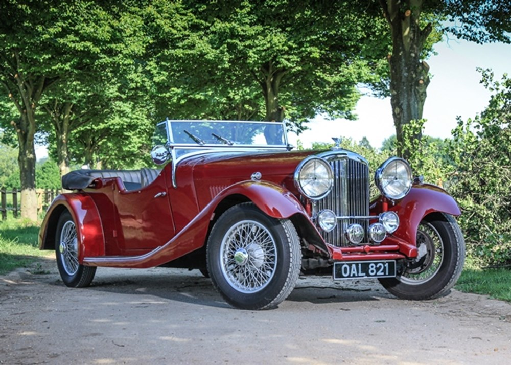 Lot 146 - 1934 Bentley 3½ litre Open Tourer by Sparrowhawk