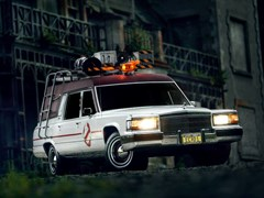 Navigate to Lot 163 - 1991 Cadillac Fleetwood Ghostbusters Hearse