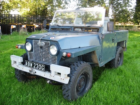 1969 Land Rover SWB Series 2A Lightweight