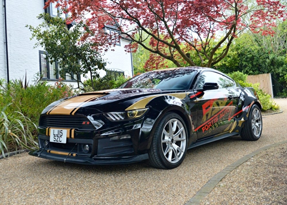 Lot 212 - 2015 Ford Mustang GT Wide-body '50th Anniversary Edition' *REDUCED ESTIMATE*