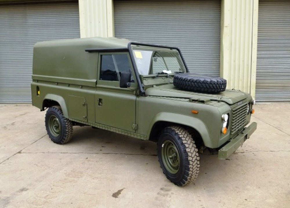 Lot 362 - 1986 Land Rover 110 Defender 'Tithonus'