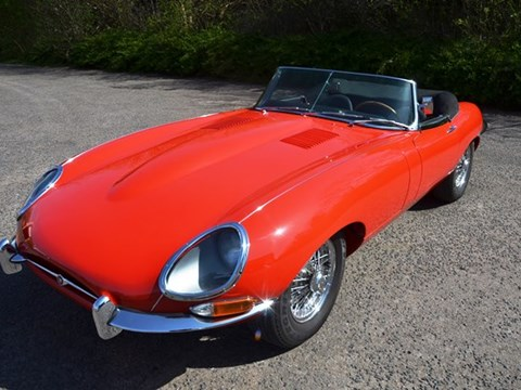 REF 36 1963 Jaguar E-Type Series 1 3.8 Roadster