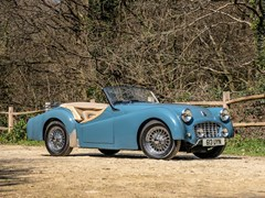 Navigate to Lot 137 - 1956 Triumph TR3 Convertible