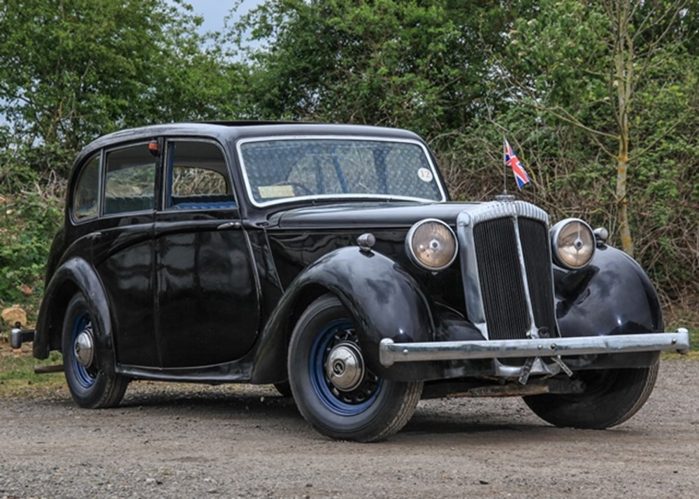 Lot 273 - 1946 Daimler DB 18 Ex-King George VI Royal Tour of South Africa