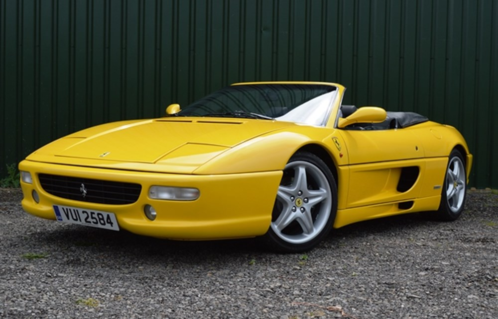 Lot 321 - 1999 Ferrari 355 F1 Spider
