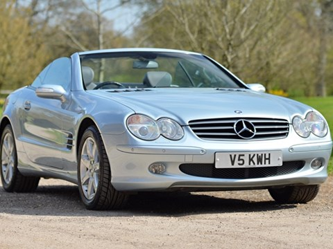 Ref 53 2004 Mercedes SL 500 Roadster