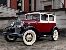 Ref 26 1930 Ford Model A Tudor two door Sedan