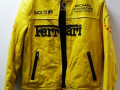 Navigate to A Ferrari leather jacket