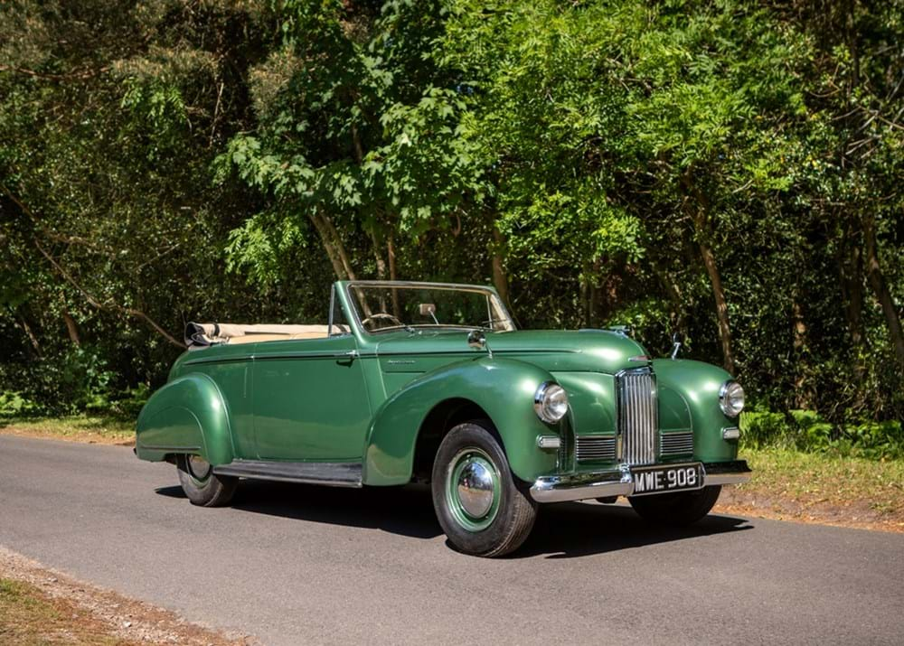 Lot 251 - 1950 Humber Super Snipe Mk. II Drophead Coupé by Tickford