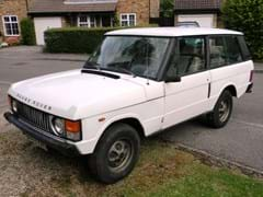 Navigate to Lot 205 - 1985 Range Rover Two Door