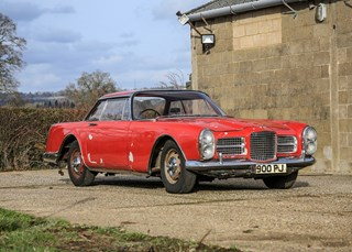 Facel Vega's 'colourful' history is a puller