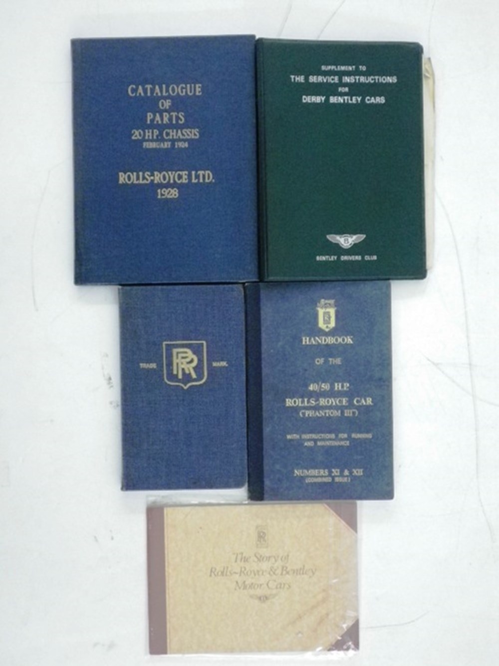 Lot 21 - Rolls-Royce and Bentley books.