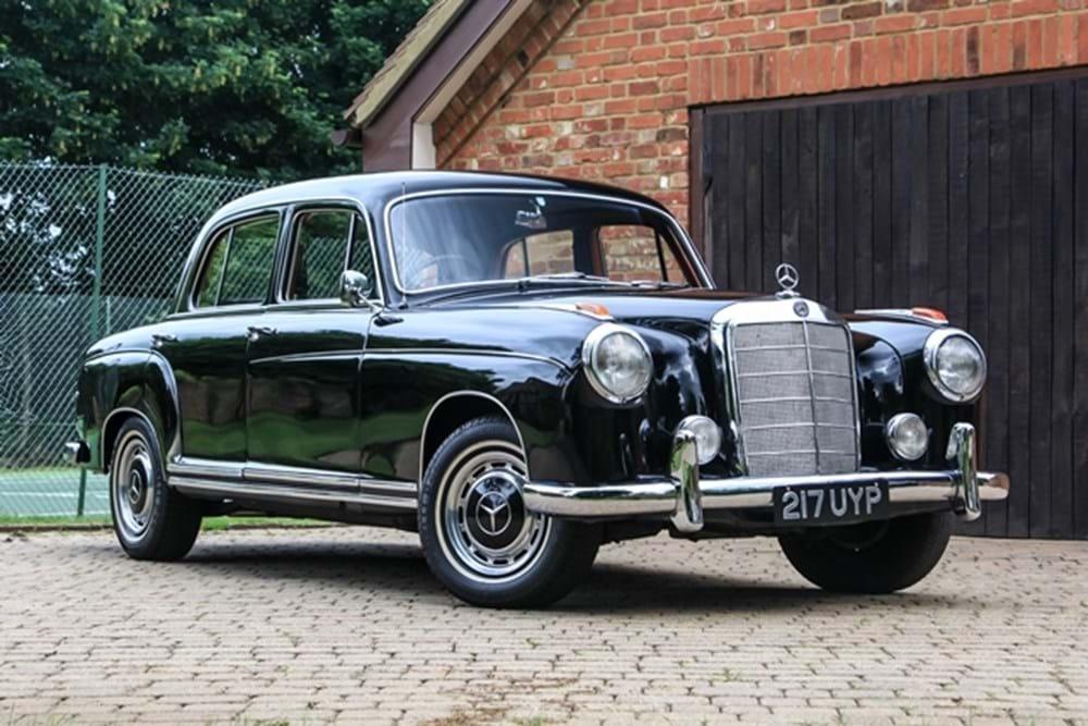 Ref 18 1959 mercedes benz 220s ponton for Mercedes benz 220s for sale