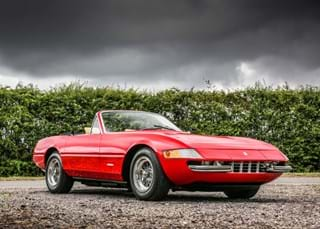 Ultra-are and distinguished 1967 Ferrari 365/4 Daytona Spider comes to sale