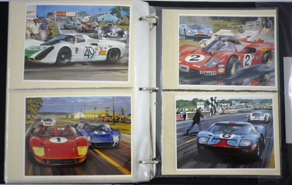 Lot 012 - Motor Racing Stickers
