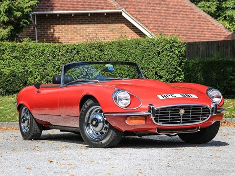 Ref 117 1972 Jaguar E-Type Series III Roadster