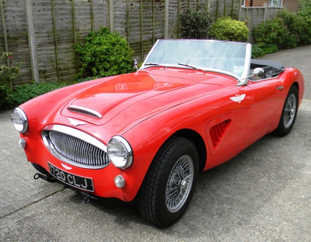 Lot 351 - 1961 Austin-Healey 3000 Mk. II BT7