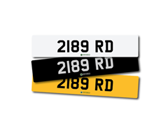 Navigate to Lot 230 -   Number Plate 2189 RD
