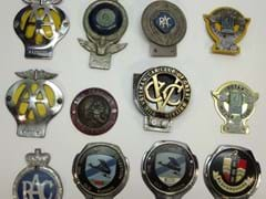 Navigate to Collection of motoring badges