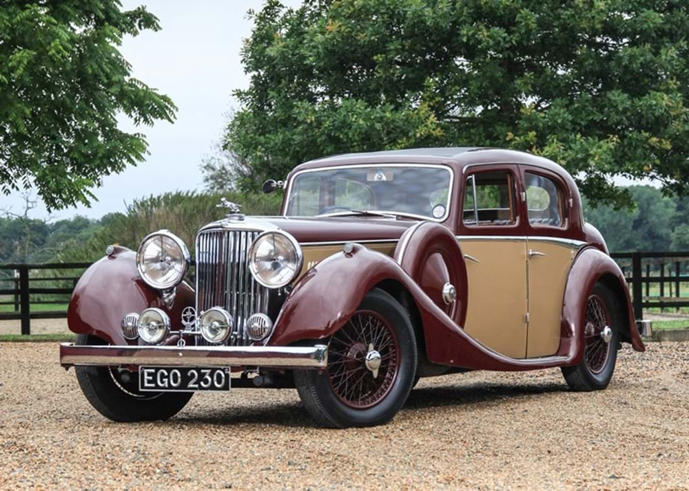 Lot 209 - 1937 Jaguar SS Saloon (2½ litre)