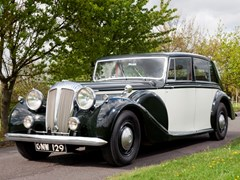 Navigate to Lot 167 - 1950 Daimler DE36 Touring Limousine by Freestone & Webb