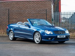 Navigate to Lot 239 - 2003 Mercedes-Benz CLK 55 AMG Avantgarde Cabriolet