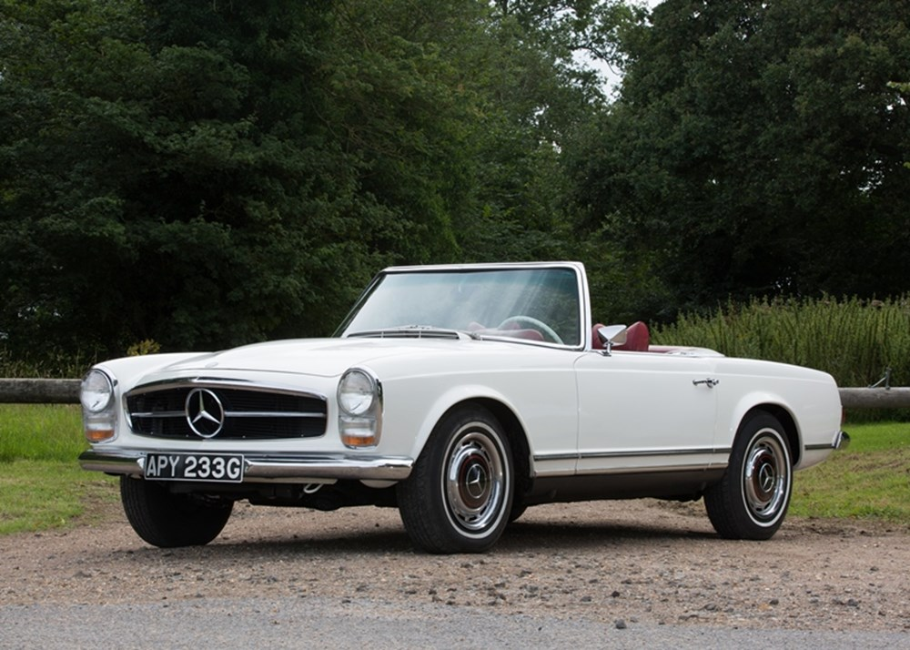 Ref 25 1969 mercedes benz 280 sl pagoda for Mercedes benz pagoda