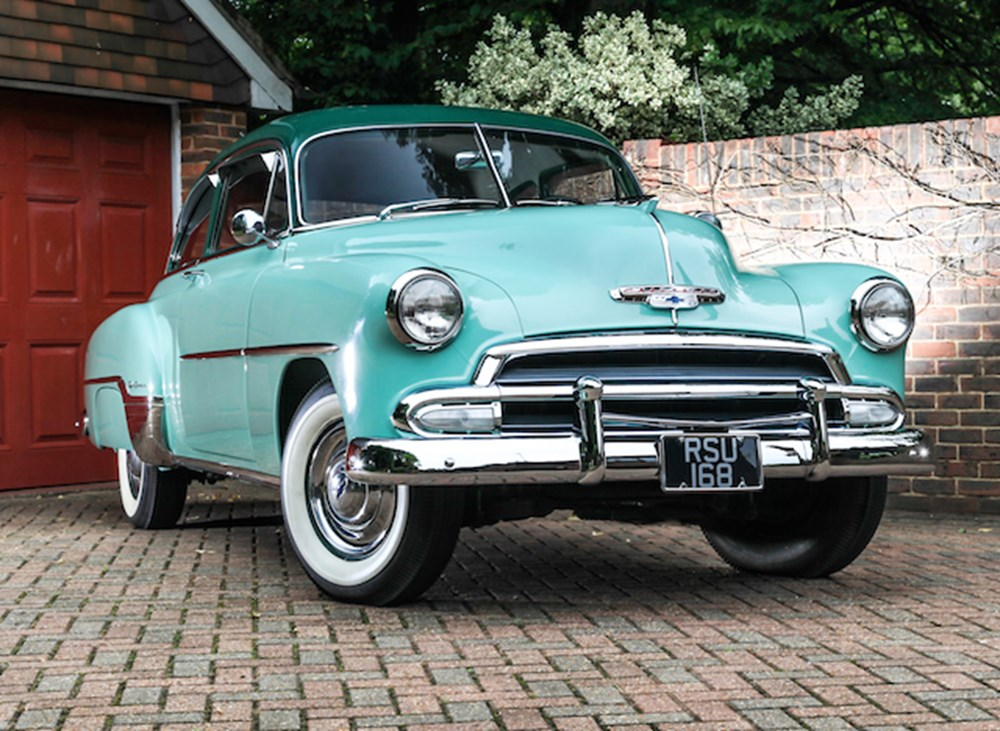 Lot 109 - 1952 Chevrolet Styleline Deluxe Coupé with Fisher coachwork