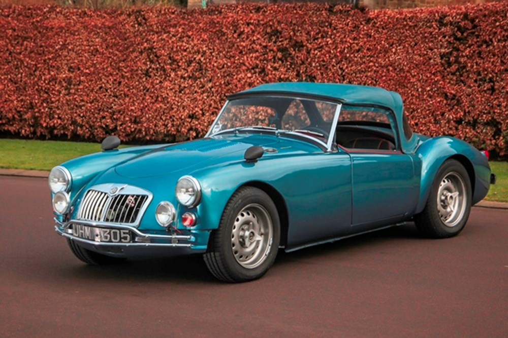 Lot 256 - 1959 MG A Roadster 'Twincam' to fast road specification