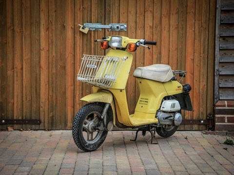REF B11 Honda Melody Moped