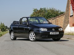 Navigate to Lot 146 - 2001 Volkswagen Golf SE Cabriolet