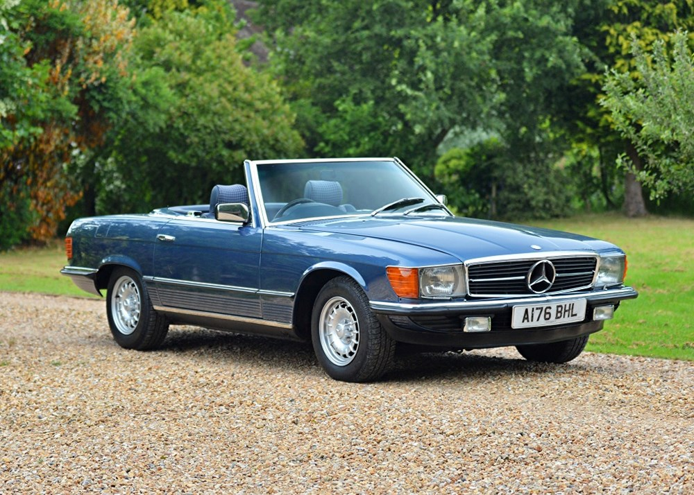 Lot 252 - 1984 Mercedes-Benz 280 SL Roadster