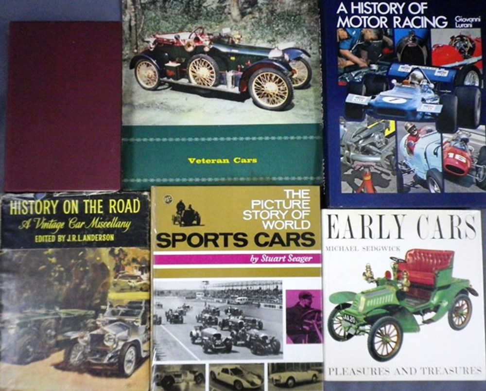 Lot 52 - motoring books
