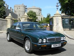 Navigate to Lot 241 - 2001 13119 HM, The Queen's personal Daimler V8 Saloon (long wheel base)