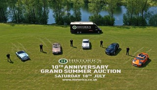 Consign and join us at Historics 10th Anniversary  Grand Summer Sale on 18th July