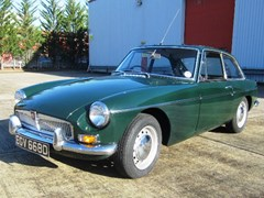 Navigate to Lot 153 - 1966 MG B GT