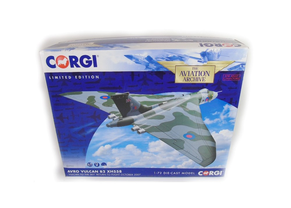 Lot 12 - A Corgi Limited Edition Avro Vulcan bomber ...