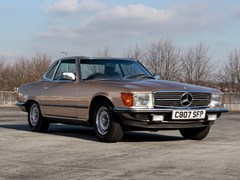 Navigate to Lot 286 - 1985 Mercedes-Benz 380 SL Roadster