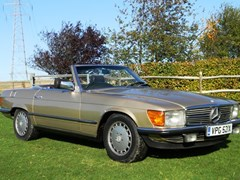 Navigate to Lot 316 - 1982 12987 380SL Roadster