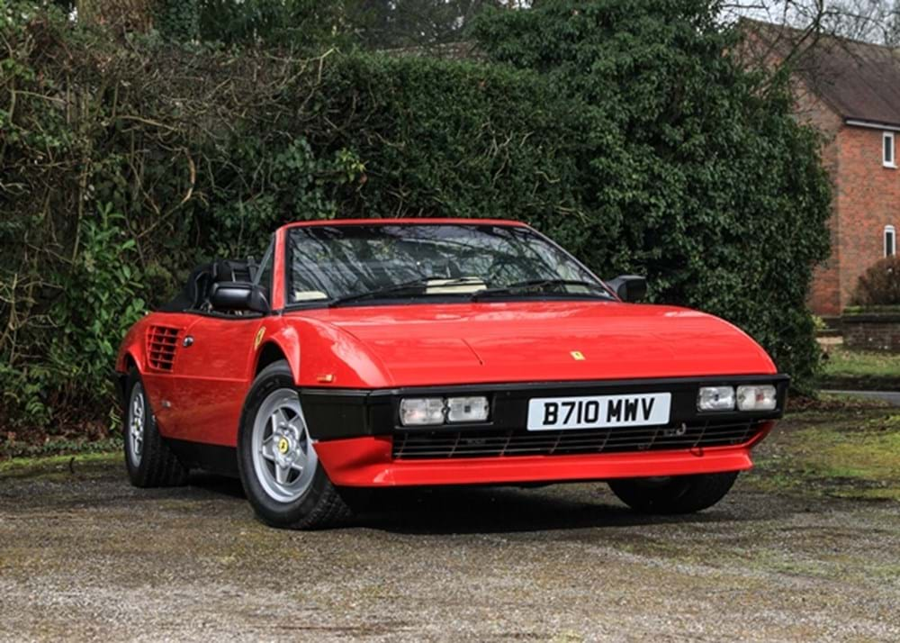 Lot 197 - 1985 Ferrari Mondial QV Convertible