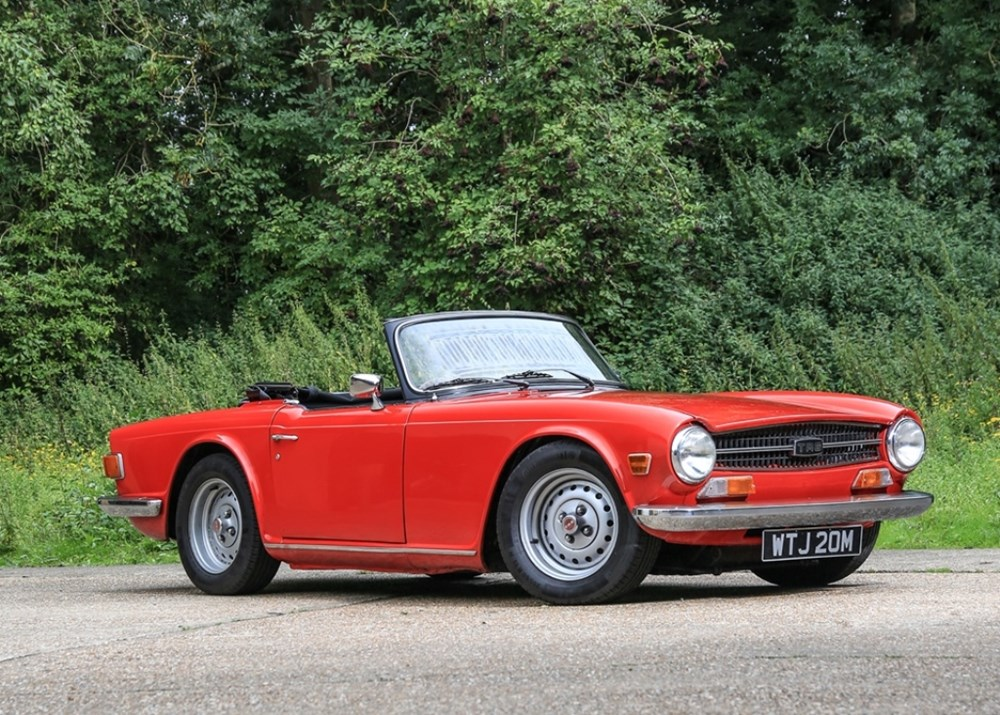 Ref 131 1973 Triumph TR6 - Classic & Sports Car Auctioneers