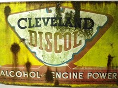 Navigate to Cleveland Discol sign.